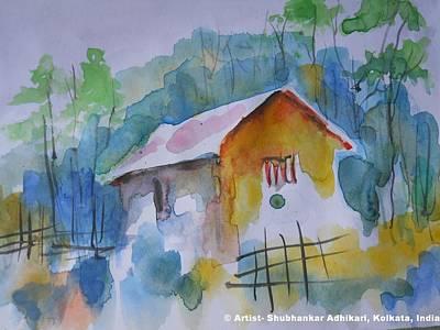 Rural Bengal -2 Art Print by Shubhankar Adhikari