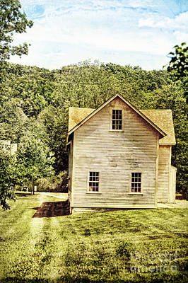 Deerfield Photograph - Rural Home by HD Connelly