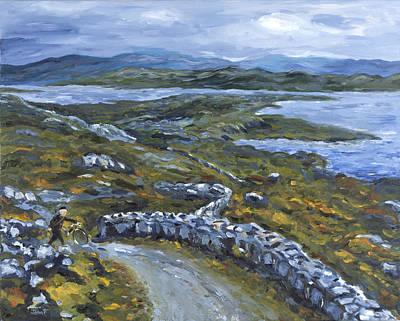 Painting - Rural Postman by John Farley
