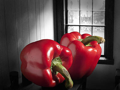 Staff Picks Judy Bernier - Rural Red Peppers No.0045 by Randall Nyhof