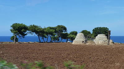 Photograph - Rural Trulli by Carla Parris