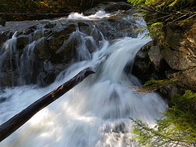 Nature Photograph - Rushing Falls by Sarah Lamoureux