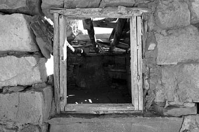 Photograph - Russell Homestead Window by Julie Niemela