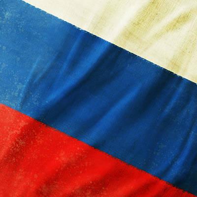 Football Royalty-Free and Rights-Managed Images - Russia flag by Setsiri Silapasuwanchai