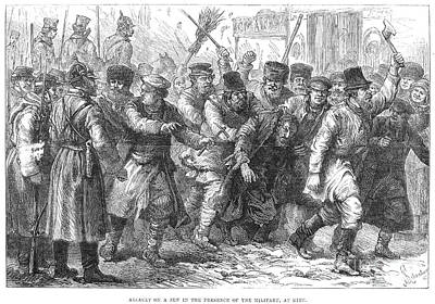 Antisemitism Photograph - Russia: Pogrom, 1881 by Granger