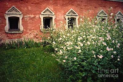 Photograph - Russian Church Wall by Sarah Loft