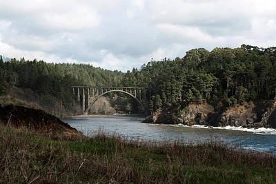 Photograph - Russian Gulch Bridge by Lorraine Devon Wilke