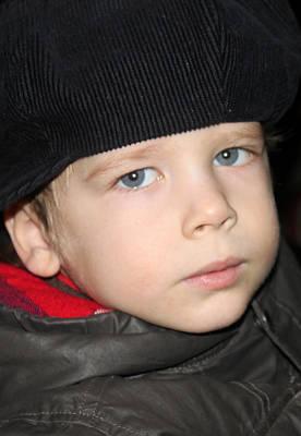 Russian Kid At Nativity Church Original