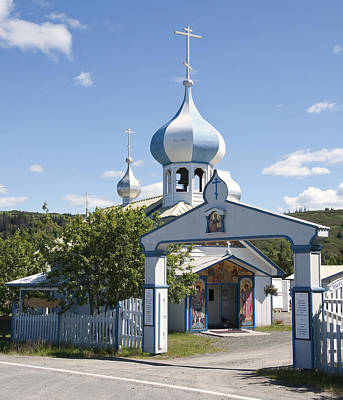 Photograph - Russian Orthodox Church by George Hawkins