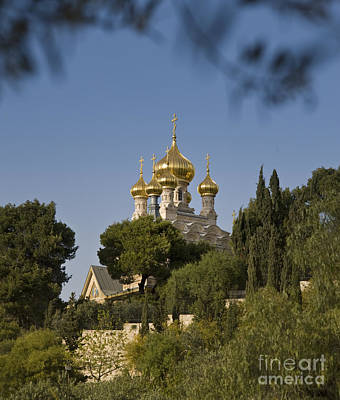 Mary Magdalene Photograph - Russian Orthodox Church by Noam Armonn