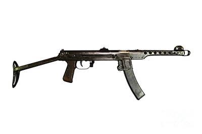 Russian Pps-43 Submachine Gun Art Print by Andrew Chittock
