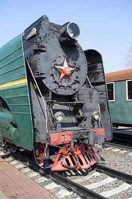 Aloha For Days - Russian steam locomotive P36-0001 by Igor Sinitsyn