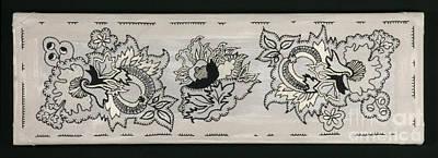 Russian Trio Tapestry Original by Carolyn Powers
