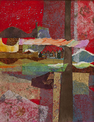 Mixed Media - Russian Village by Jillian Goldberg