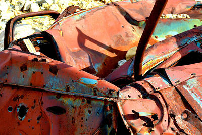 Photograph - Rust Bucket by Diane montana Jansson