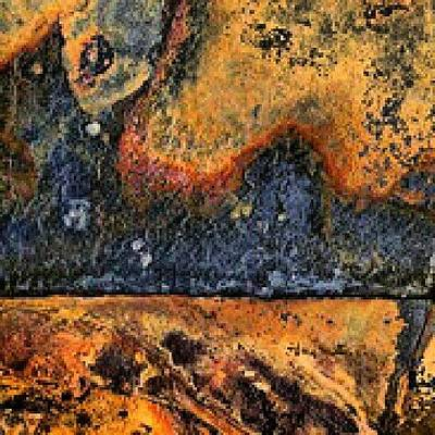 Steel Photograph - Rust by Elisa Franzetta