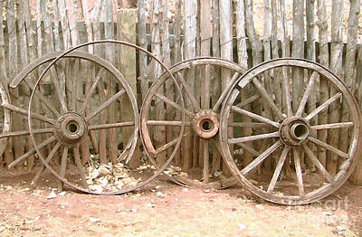 Wagon Wheels Photograph - Rust In Peace by Cristophers Dream Artistry