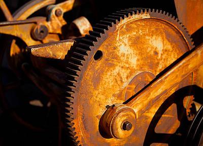 Mining Photograph - Rust by Jephyr Art