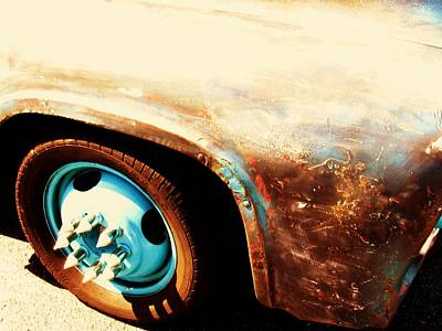 Photograph - Rusted Car by Todd Sherlock