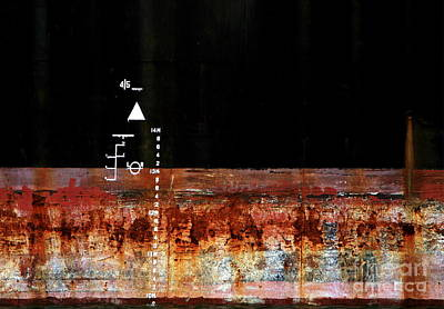 Photograph - Rusted Layer by Stephen Mitchell