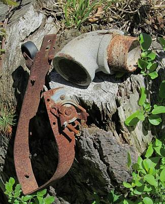 Photograph - Rusted Pipe by Todd Sherlock