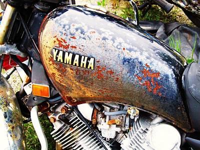 Photograph - Rusted Yamaha by Todd Sherlock