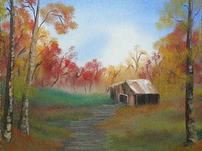 Rustic Art Print by Amity Traylor