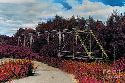 Photograph - Rustic Bridge by Bill Barber