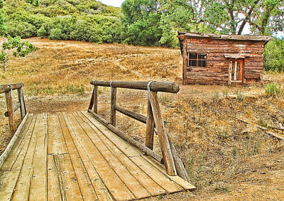 Art Print featuring the photograph Rustic Cabin by Jason Abando