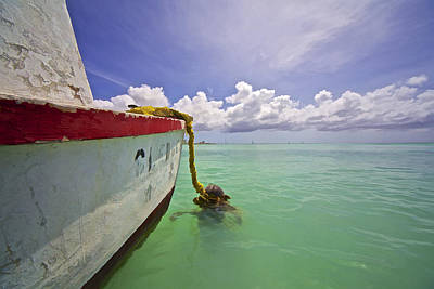 Photograph - Rustic Fishing Boat Of Aruba by David Letts