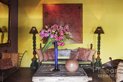 Rustic Living Room Art Print by Jeremy Woodhouse