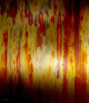 Pietyz Goan Artz Painting - Rustic Momentz by Piety Dsilva
