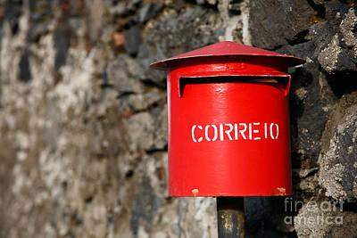 Mail Box Photograph - Rustic Portuguese Mailbox by Gaspar Avila