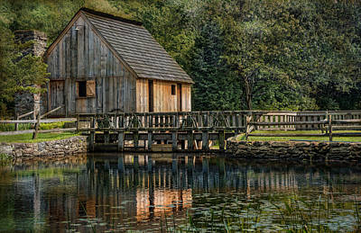 Photograph - Rustic Reflection by Robin-Lee Vieira