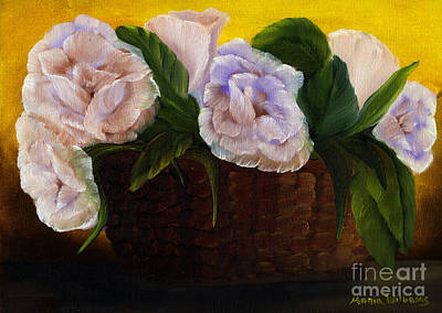 Painting - Rustic Roses by Maria Williams