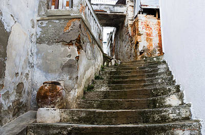 Photograph - Rustic Stairs by Johnny Sandaire