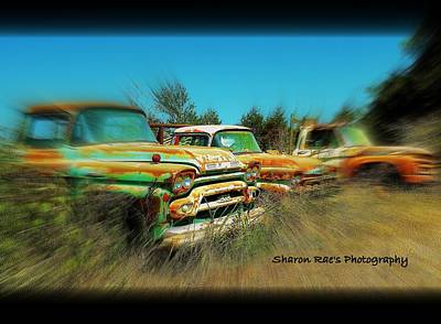 Photograph - Rusting Away by Sharon Farris