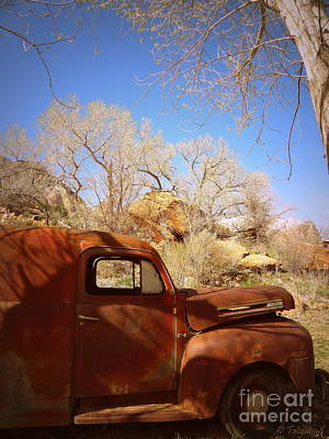 Art Print featuring the photograph Rusty Beauty by Tanya  Searcy