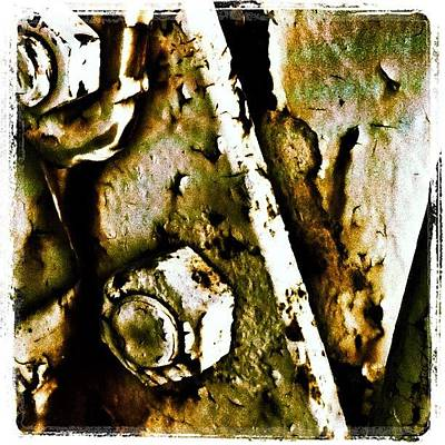 Rust Photograph - Rusty Door by Dave Edens