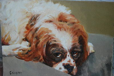 Painting - Rusty by Joyce Snyder
