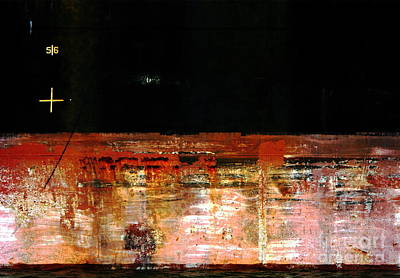 Photograph - Rusty Layers by Stephen Mitchell