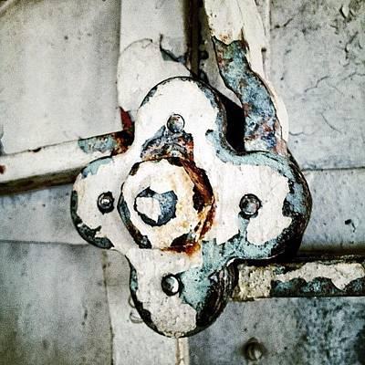 Rust Wall Art - Photograph - Rusty Lightship by Natasha Marco
