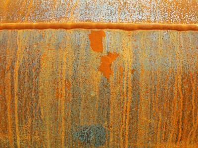 Photograph - Rusty Lines I by Anna Villarreal Garbis