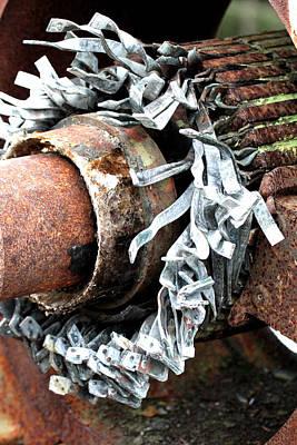 Photograph - Rusty Motor by Marie Jamieson