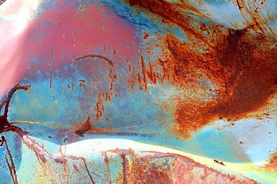 Photograph - Rusty Pastels by Diane montana Jansson