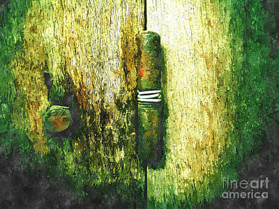 Rivets Painting - Rusty by Rakratchada Torsap
