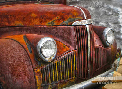 Photograph - Rusty Studebaker by Gregory Dyer