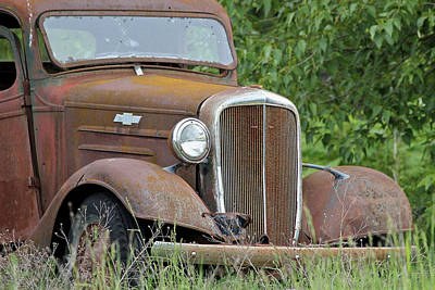 Photograph - Chevy Truck by Athena Mckinzie