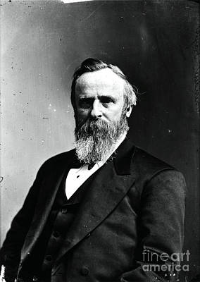 Rutherford B. Hayes, 19th American Art Print by Photo Researchers