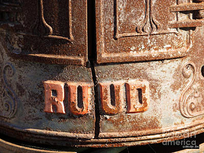 Photograph - Ruud Water Heater by Methune Hively